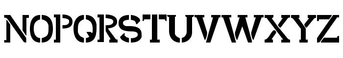 Shark Army Font UPPERCASE