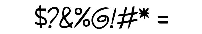 Shark HandWritten ABC Font OTHER CHARS