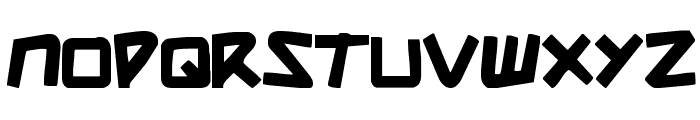 Shark Made In Japan Font LOWERCASE