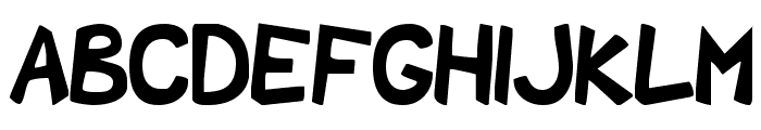 Shark Party Font LOWERCASE