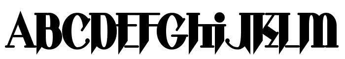 Shark Font UPPERCASE