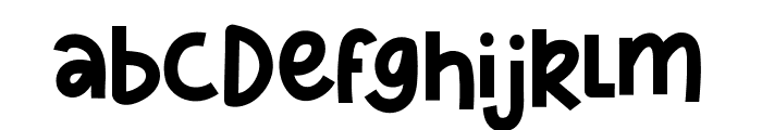 Sharkines Demo Font LOWERCASE