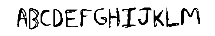 Sharkscribble Font UPPERCASE