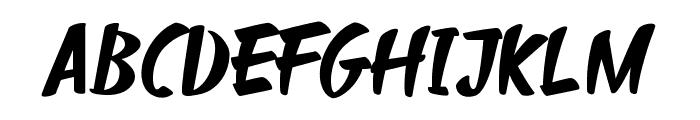 Sharkyspot Font UPPERCASE
