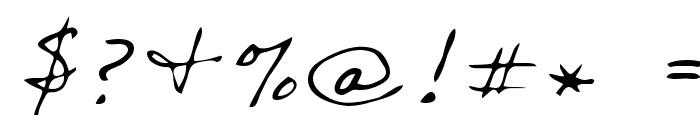 Sharon Regular Font OTHER CHARS