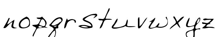 Sharon Regular Font LOWERCASE