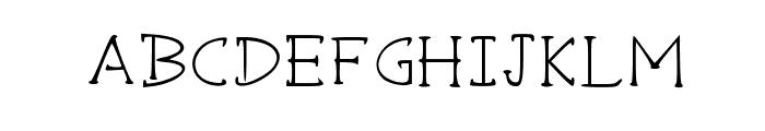 Sharpshooter Medium Font UPPERCASE