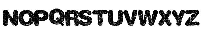 ShatterWeb Font UPPERCASE