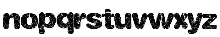 ShatterWeb Font LOWERCASE
