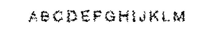 Shatter_demo Regular Font UPPERCASE