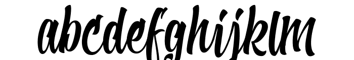 Shave the Whales Personal Use Font LOWERCASE