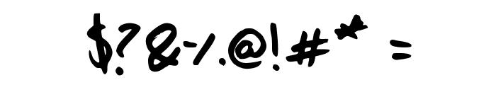 Shazi Hand Font OTHER CHARS
