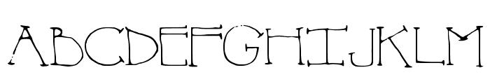 SheDevil Font UPPERCASE