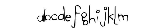 SheDevil Font LOWERCASE