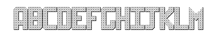 Sheff Font UPPERCASE