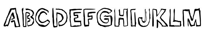 Shell Museum Regular Font UPPERCASE