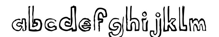Shell Museum Regular Font LOWERCASE