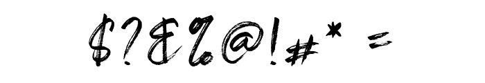 Shelldon Font OTHER CHARS