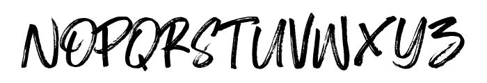Shelldon Font UPPERCASE