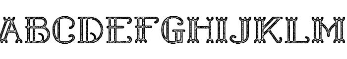 Shelley Dead Font UPPERCASE