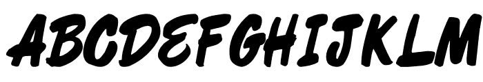 Shelman Regular Font UPPERCASE