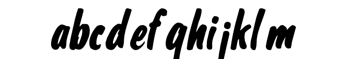 Shelman Regular Font LOWERCASE