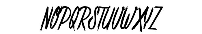 Shenanigans basic_PersonalUseOnly Font UPPERCASE