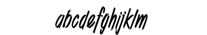 Shenanigans basic_PersonalUseOnly Font LOWERCASE