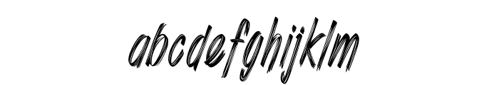Shenanigans_PersonalUseOnly Font LOWERCASE