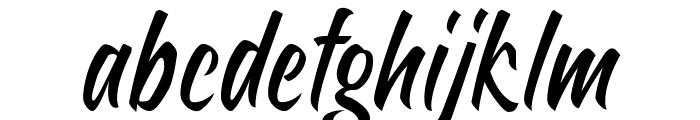 Sheptember Font LOWERCASE