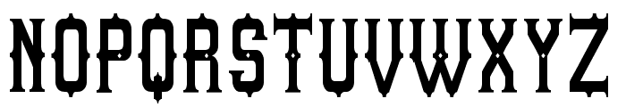 Sheriff of South St Font UPPERCASE