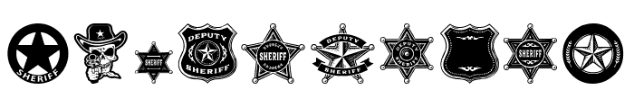 Sheriff Font OTHER CHARS