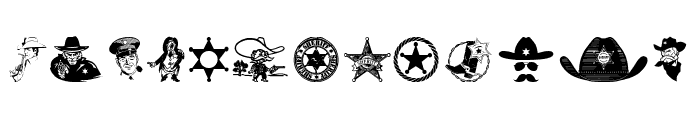 Sheriff Font UPPERCASE