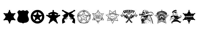 Sheriff Font LOWERCASE