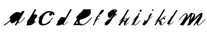 SherleyXXX Normal Font UPPERCASE