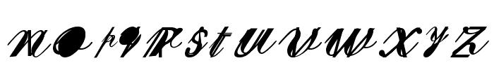 SherleyXXX Normal Font LOWERCASE
