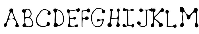 Sheryl Regular Font UPPERCASE