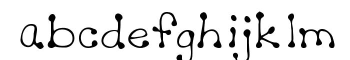Sheryl Regular Font LOWERCASE