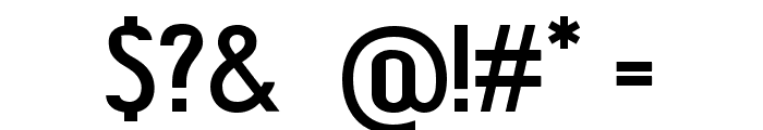 ShiftTypeBasic Font OTHER CHARS