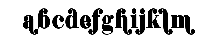 Shifty Chica Font LOWERCASE