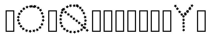 Shine Font LOWERCASE