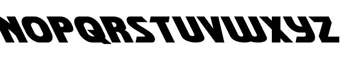 Shining Herald Leftalic Font LOWERCASE