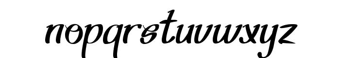 Shining Pearl Font LOWERCASE