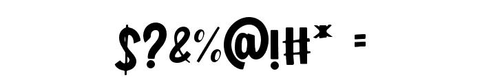 Shiny Unicorn - Personal Use Font OTHER CHARS