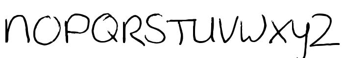 Shipwreck Font UPPERCASE