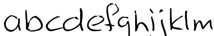 Shipwreck Font LOWERCASE