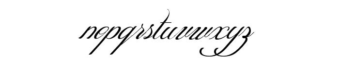 ShitHappens-Cursive Font LOWERCASE