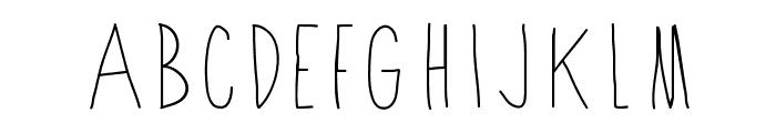 Shithead Font UPPERCASE