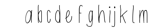 Shithead Font LOWERCASE