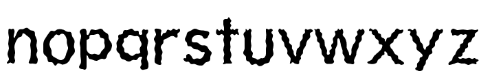 Shiver Font LOWERCASE